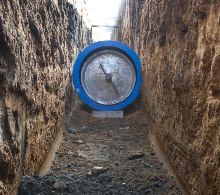 Water mains repairs